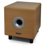 "Hyundai Multicav Beige 10"" Active Home Theater Subwoofer 120W"