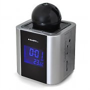 Majestic RS87 Digital Projection Clock Radio - Thermometer