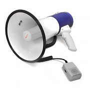 Auna 80 Watt Megaphone Loud speaker Siren Light weight