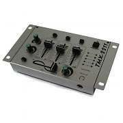 Auna TMX-2211 3/2 Channel DJ Mixer with Talkover