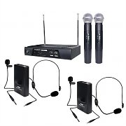 "KAM ""All-Rounder"" Wireless Microphone 174.1, 174.5 MHz Set"
