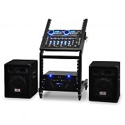 Complete DJ PA Package - Rack Star Series 'Pluto Blues' 250 people