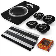 4.1 &quot;Silverstone&quot; In Car HiFi Amplifier Subwoofer Speaker Bundle Set