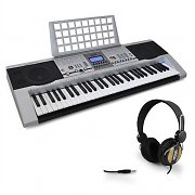 Complete Keyboard Starter 'Jive' 61 Key Headphones USB Set
