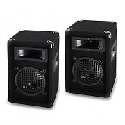 "Malone PW-0622 Passive 6.5"" DJ PA 3-Way Speakers - 500W Pair"