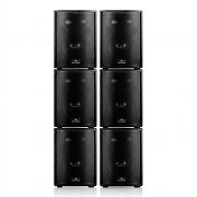 "Auna ""Rhodos"" Professional DJ PA Active Speaker Set 6 parts 9600W"