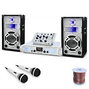 DJ PA System 'Wedding Fox' Mixer Amplifier Speakers Set
