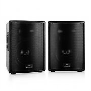 "Pair of Malone PS-12A-T Active Speakers 30cm (12"") 1600W"