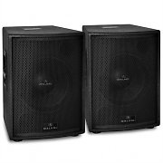 "Pair of Malone 10"" Active PA Speakers 1200W Max"