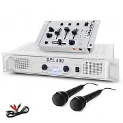 Hifi PA &quot;DJ-94&quot;  400W System Amplifier DJ Mixer &amp; Microphone Bundle