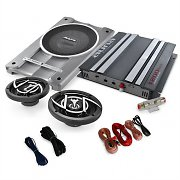 2.1 Car HiFi 'Platin Line 300' Speakers Amplifier 1600W Set