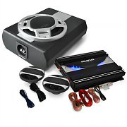 2.1 Car HiFi System 'Black Line 340' Amplifier Speaker Set