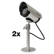 DuraMaxx Minimax Cerberus Outdoor Dummy Camera Set of 2
