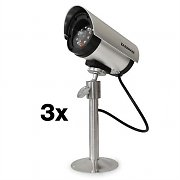DuraMaxx Minimax Cerberus Dummy Outdoor Camera Set of 3