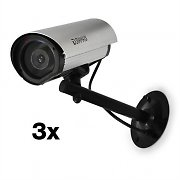 DuraMaxx Dummy Outdoor Surveillance Camera Set of 3