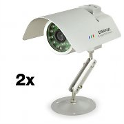 DuraMaxx Night Vision Surveillance Camera Pair CCTV IR