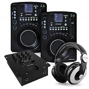 DJ &quot;Classic CD MP3 Mixing&quot; 2 x CD Player, 1 x Mixer Set