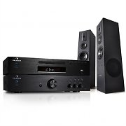 HiFi System - 600W CD Radio Amplifier Floor Standing Speaker Set