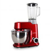 Klarstein Carina Rossa Set 800W Food Processor + 1.5L Blender Red