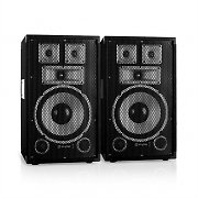 "Skytec TX10 Pair of 25cm (10"") Passive PA Speakers 150W RMS"