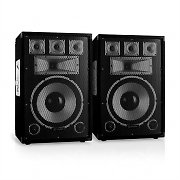 "Skytec TX12 Pair of 30cm (12"") Passive PA Speakers 200W RMS"