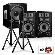 "2.1 PA Set Sapphire Series ""After Hour"" 10-S with Pair of Speakers, Subwoofer & Tripods"