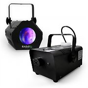 "Ibiza Light / Show Effect Set ""Black"" Fog Machine Moonflower"