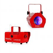 "Ibiza ""Red"" Light & Show Effect Set Fog Machine Moonflower"
