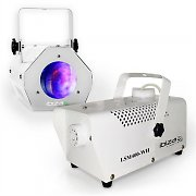 "Ibiza ""White"" Light & Show Effect Set Fog Machine Moonflower Lighting"