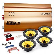 Auna 4.0 Car HiFi Set Golden Race V6