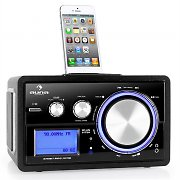 Auna Musio Bluetooth Internet Radio Stereo System iPod Dock WLAN AUX