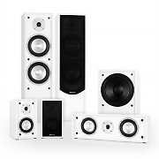 Auna Line 300-WH 5.1 Home Cinema Hi-Fi Speaker System 515W - White