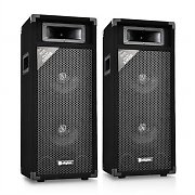 Skytec SM28 Pair of PA Speakers 500W PA Box 2x20cm