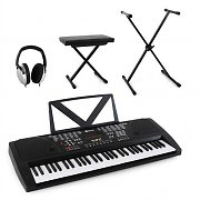 Schubert 'Little Bach' Keyboard Set Headphones Stool Stand