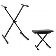 Malone Keyboard Accessory Set with Stool and Keyboard Stand