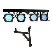 Beamz LED Parbar 4 Way 145 LED Light Bar Effect with Wall Mounting Bracket