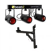 Beamz 3-Some LED Light Effect Set with Wall Bracket