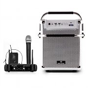 Malone Rock Fortress PA System + UHF 250 Wireless Microphone Set PA-Box Microphone Headset