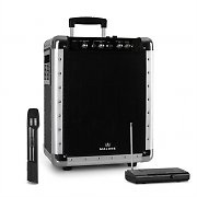 Malone PAS1 Streetrocker Portable PA System with Bluetooth VHF Wireless Microphone Black