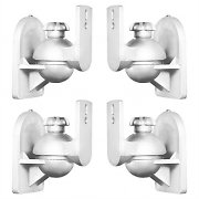 LUA SB-28 Speaker Holder Mounting Set of 4 White <3.5kg Home Theatre HiFi