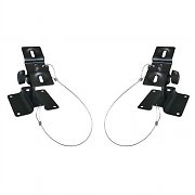 LUA SB-01 Set of 2 Universal Speaker Mounting Brackets 10 kg Black