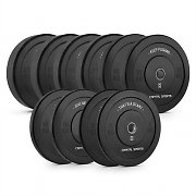 Capital Sports Elongate Set of 5 Pairs of Weight Plates