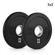Capital Sports Elongate Set of 5 Pairs of Weight Plates 1.25 kg