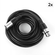 FrontStage XLR Cable 10m Black Male to Female