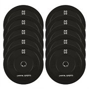 Capital Sports Resilior Droppable Plate Weight Plates Hard Rubber 5kg 5 Pairs