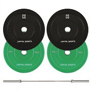 Capital Sports Lionbar Barbell Olympic Bar Men 220cm 20kg