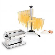Klarstein Pasta Set Siena Pasta Maker Stainless Steel & Verona Pasta Dryer