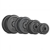 CAPITAL SPORTS IPB 37.5 kg Set Barbell Weights Set 30MM