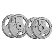 CAPITAL SPORTS IP3H Weight Discs Set 30kg supercurlbar 2 x 5 kg + 2 x 10 kg