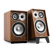 NUMAN Retrospective 1978 Active Speaker System Speaker Stands Walnut